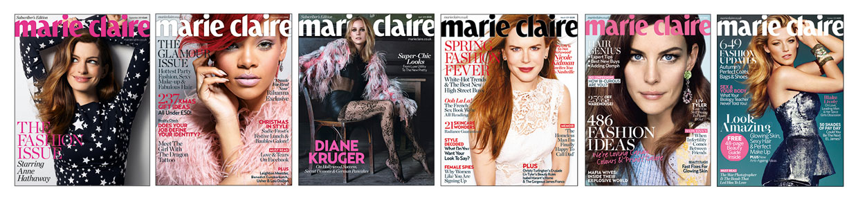 Marie Claire Magazines