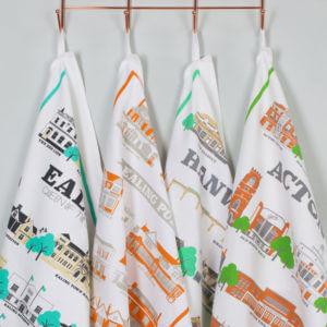 West London Tea Towels
