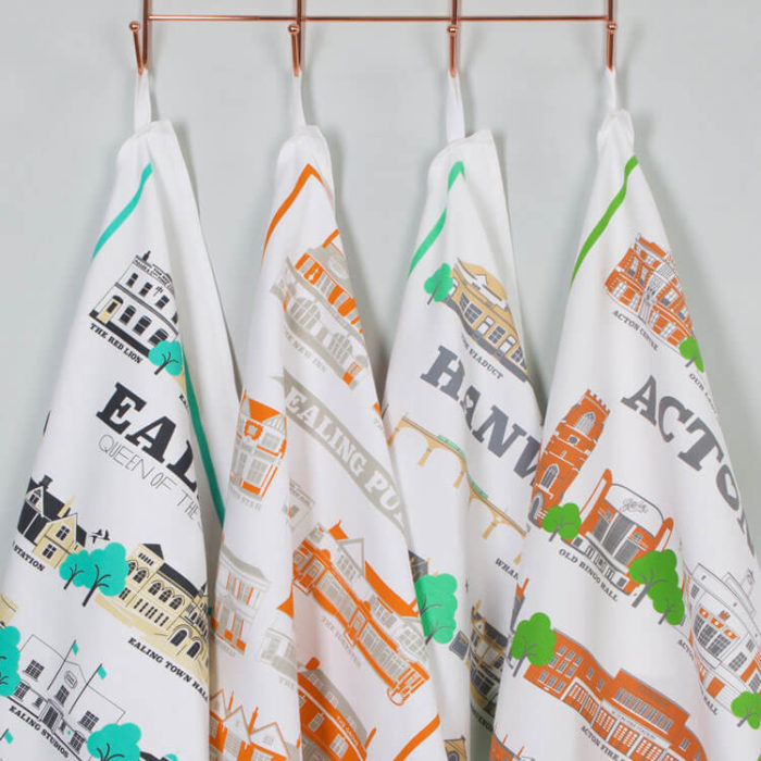 West London Tea Towels