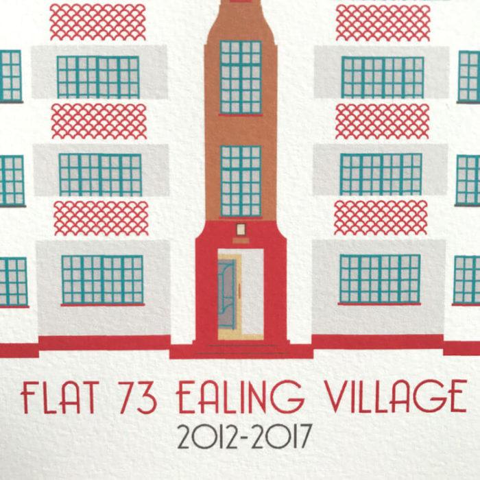 Ealing Village Print