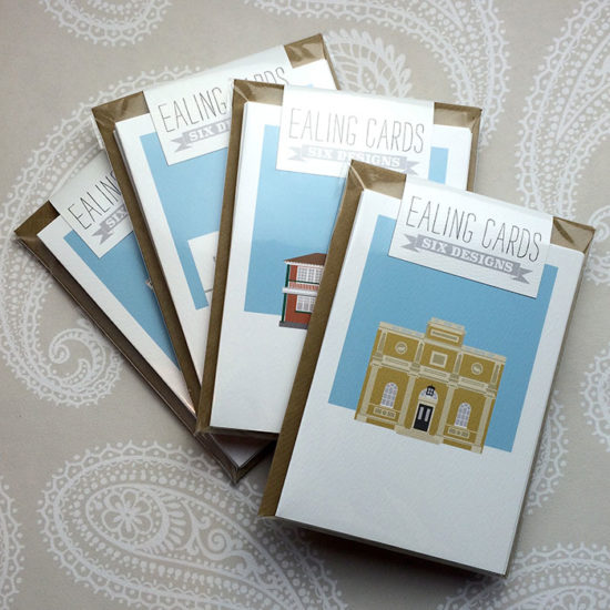 Ealing Illustrated Card Collection