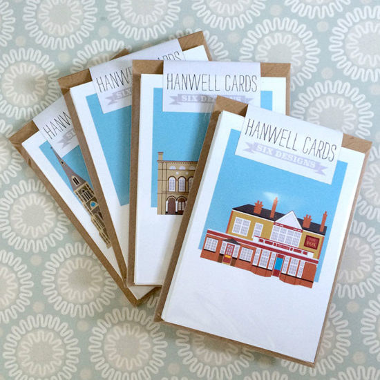 Hanwell Illustrated Card Collection