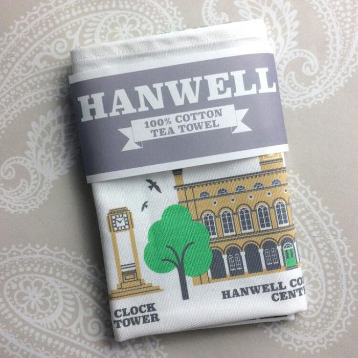Hanwell Tea Towel