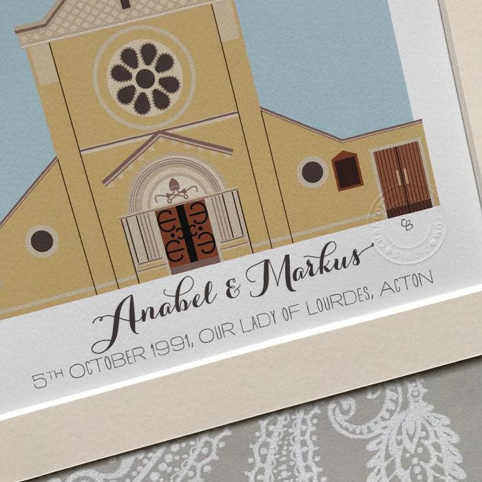 Our Lady of Lourdes Church Acton