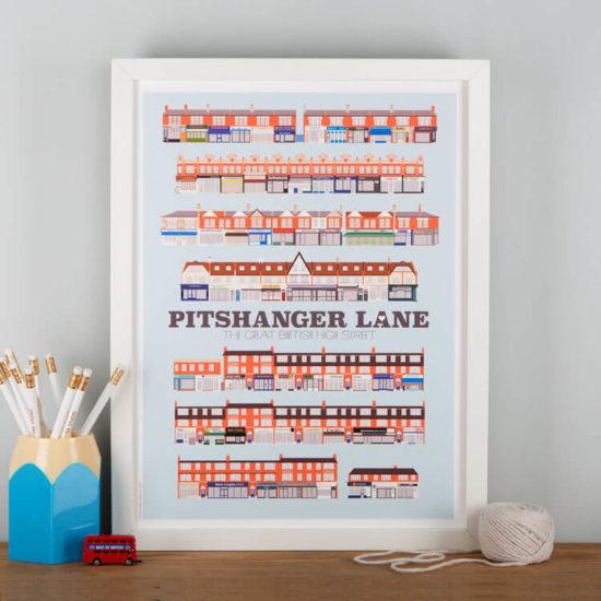 Pitshanger Lane Print