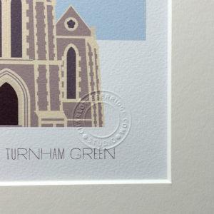 Christ Church, Turnham Green Illustrated A4 Print